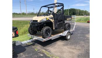 2019 GU10 Trailer with Ramp, Upgraded Wheels/Tires and Tongue Jack