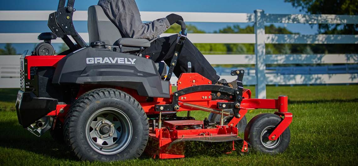 Gravely zero-turn lawn mowers in Slidell, LA