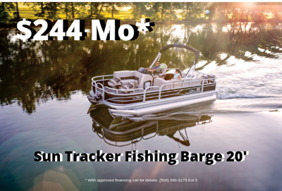 Fishing Barge 20 DLX