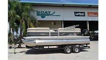 2019 PARTY BARGE® 20 DLX, Trailer and 90CT