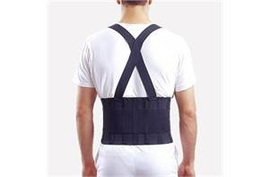 Industrial Back Support with Shoulder Straps