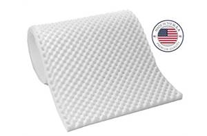 "Pride 3"" Eggcrate Foam Mattress"