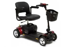 Pride - Go-Go Elite Traveller 4-Wheel (SC44E)