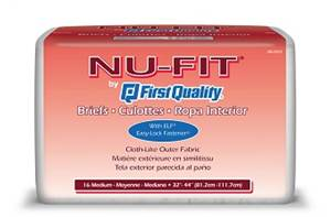 Nu-Fit Brief Heavy Absorbency tab closure