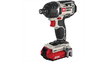 "20V MAX* 1/4"" Hex Lithium Ion Impact Driver Kit"