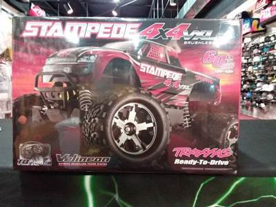 Stampede VXL 4x4 Brushless 10th Scale High-Performance Truck