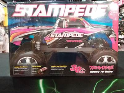 Stampede 1/10 Scale 2WD Brushed Monster Truck