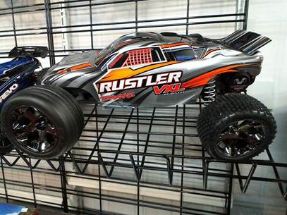 Traxxas Rustler VXL RTR 10th Scale 2WD Brushless Stadium Truck