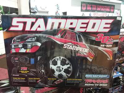 Traxxas Stampede XL-5 10th Scale 2WD Brushed Monster Truck