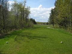 A beautiful fairway for playing golf