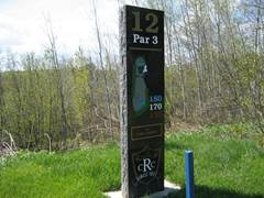 ridgeview marker for hole01