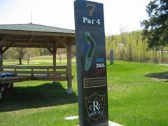 ridgeview marker for hole07
