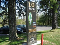 ridgeview marker for hole10