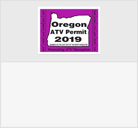 Oregon.gov ATV Permit Information