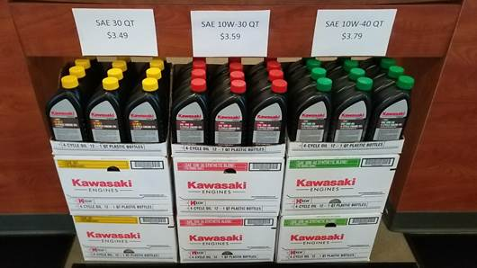 Genuine Kawasaki OIl