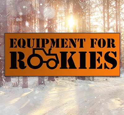 Equipment for Rookies