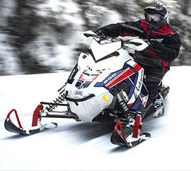 POLARIS SNOWMOBILES AND TIMBERSLED