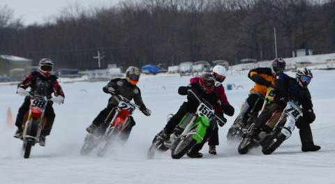 FRP Ice Racing