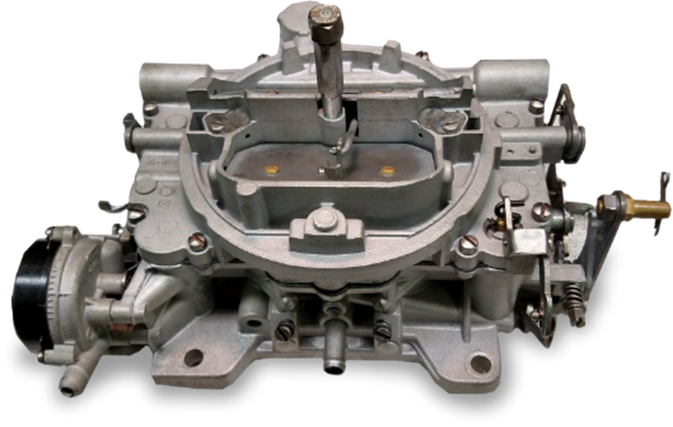 WE SPECIALIZE IN  CARBURETOR REBUILDING.