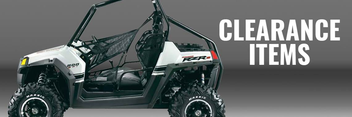 RZR Clearance Items