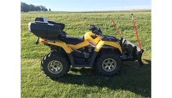 2007 OUTLANDER 800 XT With Plow