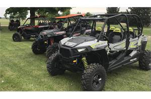 RZR® S4 900 EPS - Ghost Gray