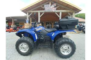 Grizzly 450 Auto. 4x4 - Steel Blue