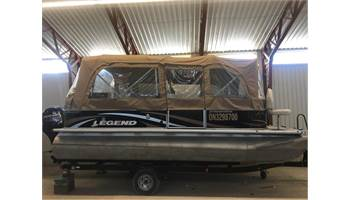 2012 Pontoon 20 Transporter TriToon