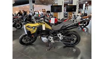 2019 F 750 GS - Austin Yellow Metallic