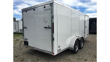 2019 AMERA-LITE 7X16 ALUMINUM CARGO TRAILER WITH RAMP
