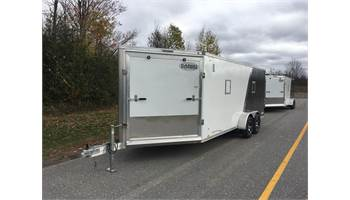 2019 SALE - 7X23 SNOWMOBILE CARGO TRAILER drive in drive out