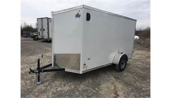 2019 ON SALE!!  6X12 CARGO TRAILER BARN DOOR