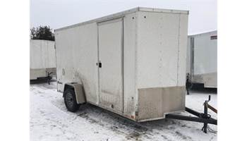 2019 ON SALE! 6X12 CARGO TRAILER WITH RAMP DOOR