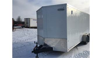 2019 ON SALE! 7X18 CARGO TRAILER WITH BARN DOORS