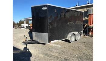 2019 7X14 Cargo Trailer With Ramp Door