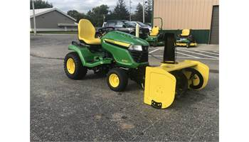 2019 X590 W/mower and snow blower