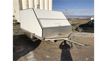2010 V-Nose 8X12 Clam Enclosed Snowmobile Trailer