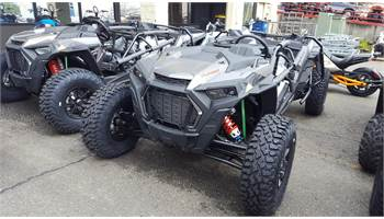 2019 RZR XP 4 Turbo S Velocity - Titanium Metallic
