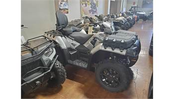 2019 Sportsman Touring 850 SP - Silver Pearl