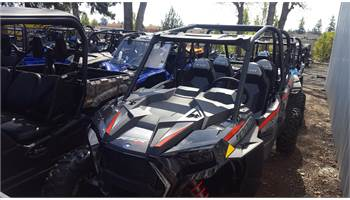 2019 RZR XP 4 1000 EPS Ride Command - Black Pearl