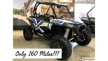 2017 RZR XP® 1000 EPS White Lightning with Reflex Blue