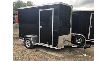 6x10 Pro Series Enclosed Trailer (Black) (0200)