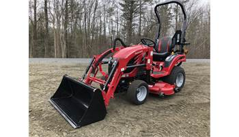 Emax 20s HST 4x4 Tractor w/ Loader & Mid Mower