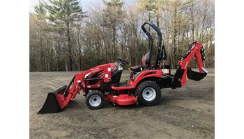 "Emax 20s HST Tractor w/ Loader & Backhoe & 54"" Mid Mower"