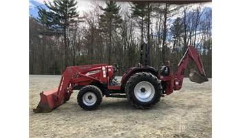 4110 Shuttle Tractor w/ Loader & Backhoe