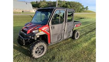 2018 RANGER CREW® XP 1000 EPS Northstar HVAC Edition - Sunset Red Metallic