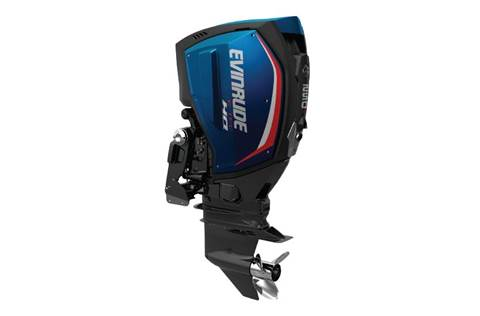 Studio shot of a Evinrude E-Tec® G2.