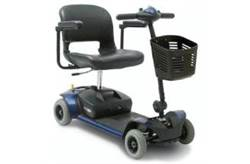 GO-GO ELITE TRAVELER 4-WHEEL SCOOTER