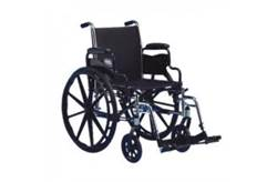 INVACARE TRACER SX5 WHEELCHAIR, FLIP-BACK ARMS