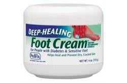 DEEP HEALING FOOT CREAM 4OZ JAR